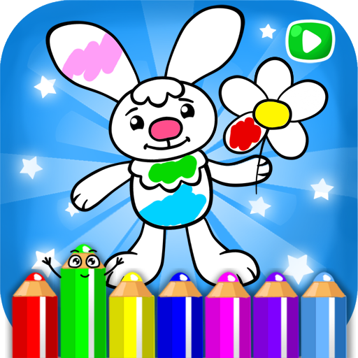 Live coloring for kids